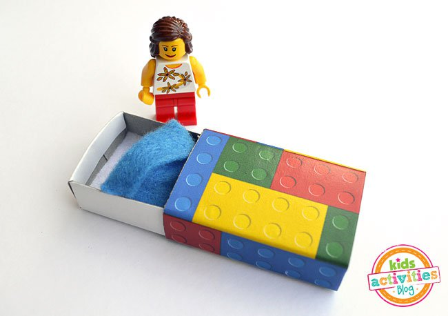 Lego Matchbox Beds Free Printable