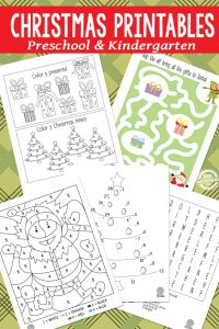 Christmas Printables for Preschool and Kindergarten