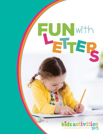 Fun with Letters Printable Package Cover