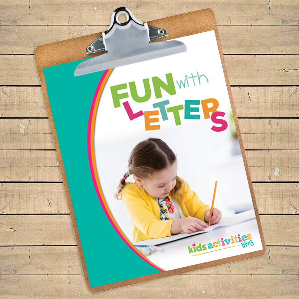 Fun with Letters Printable Package for Kids