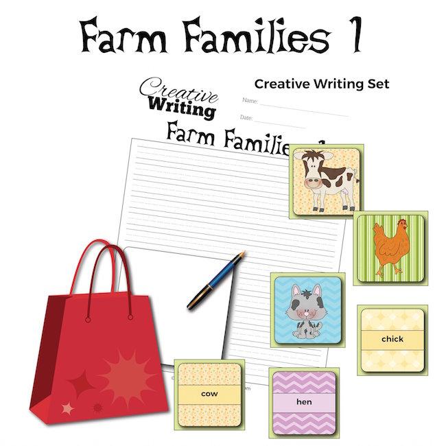 Farm Families 1 Vocabulary: Creative Writing