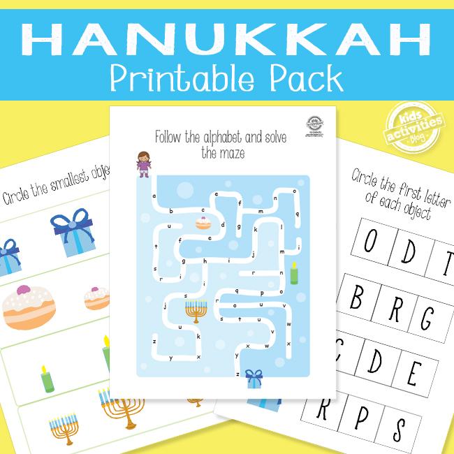Hanukkah Printable Pack