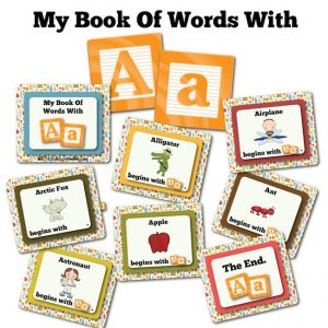 My Book Of Words with A