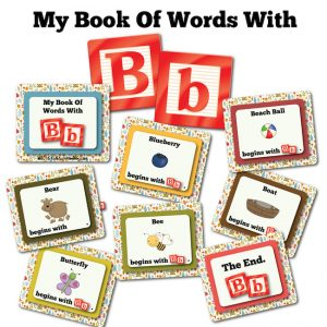 My Book Of Words with B
