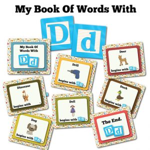 My Book Of Words with D