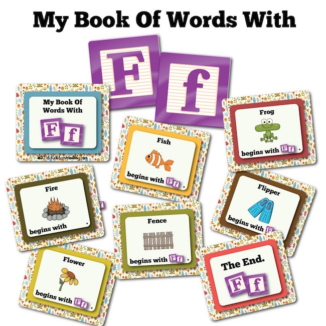 My Book Of Words with F
