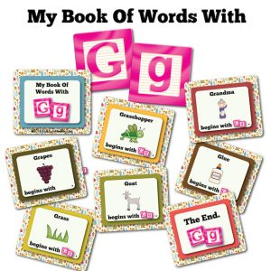 My Book Of Words with G