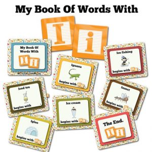 My Book Of Words with I