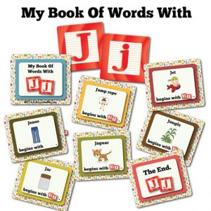 My Book Of Words with J