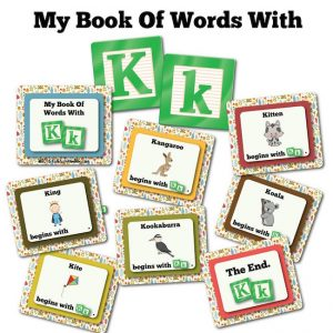 My Book Of Words with K