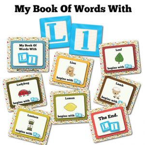 My Book Of Words with L
