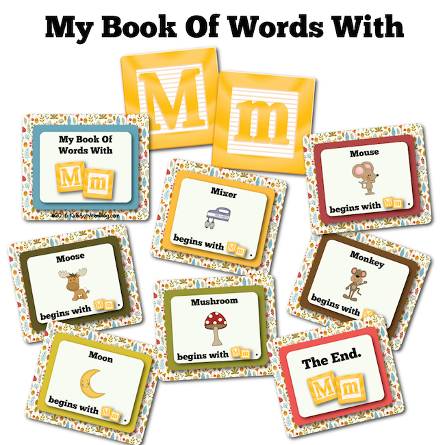 My Book Of Words with M