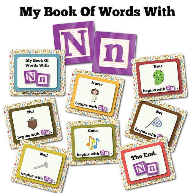 My Book Of Words with N