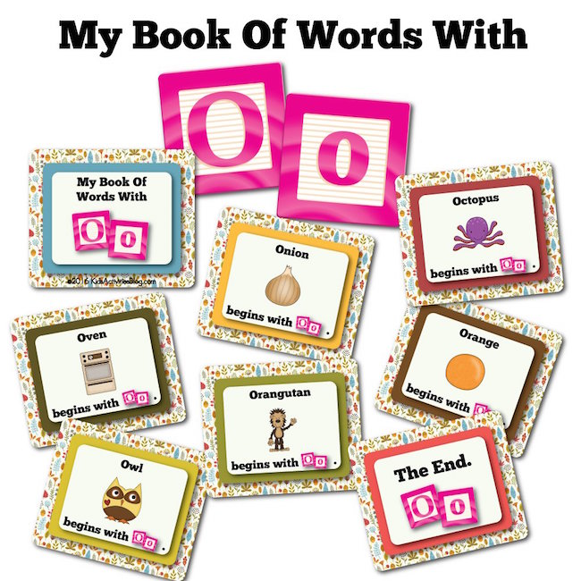 My Book Of Words with O
