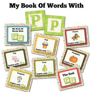 My Book Of Words with P