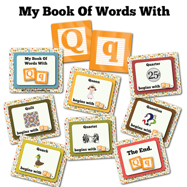 My Book Of Words with Q