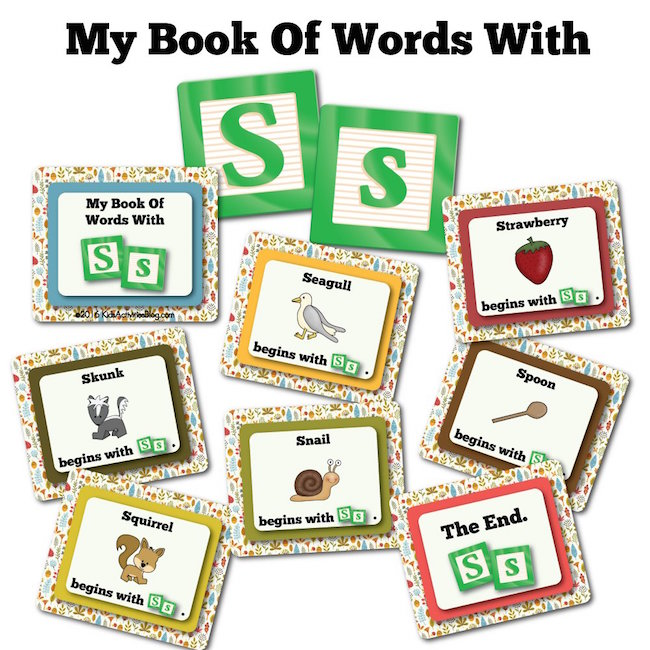 My Book Of Words with S