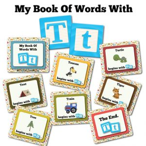 My Book Of Words with T