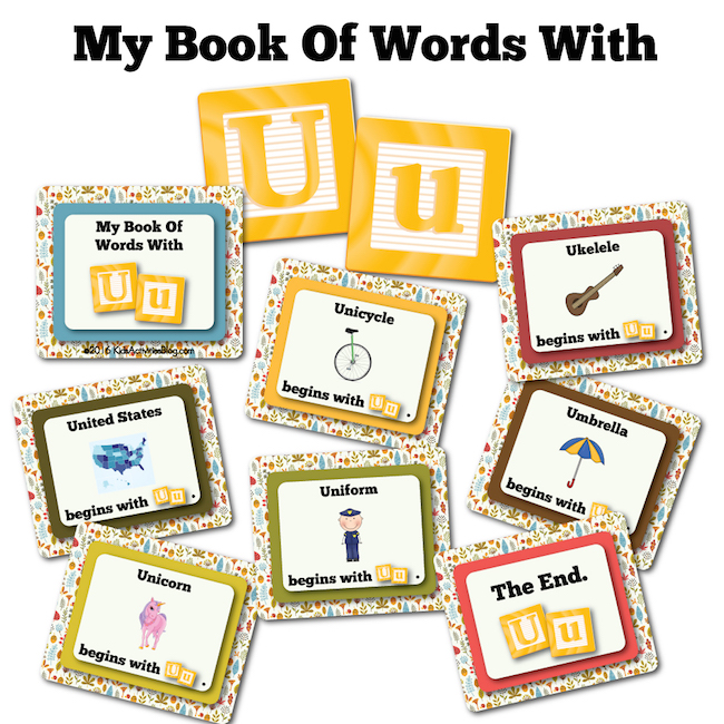 My Book Of Words with U