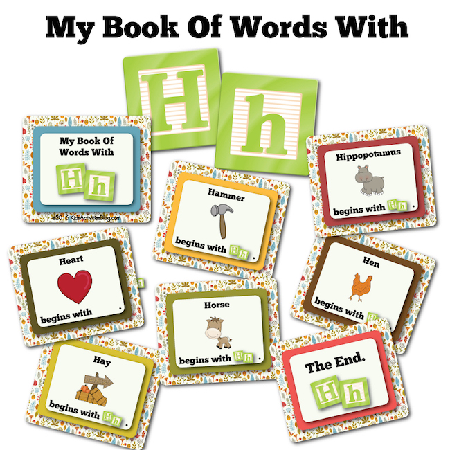 My Book of Words with H