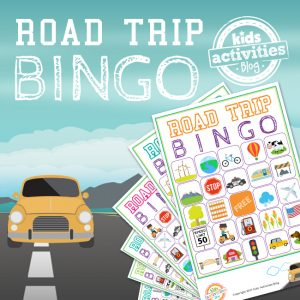 Road Trip BINGO Game for Kids