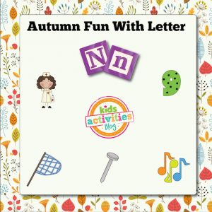 Autumn Alphabet Activities with Letter N