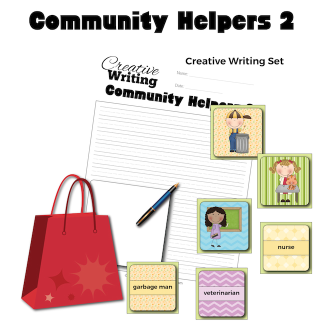 Community Helpers 2 Creative Writing