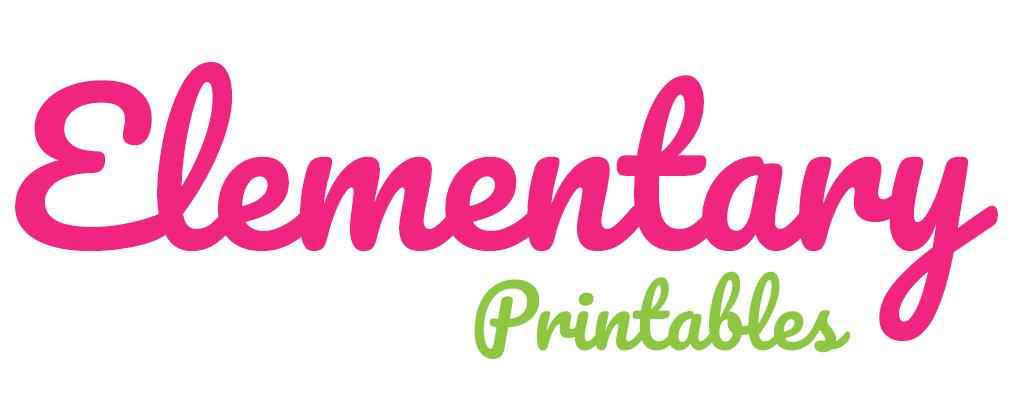 Elementary Printables