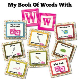 My Book Of Words with W