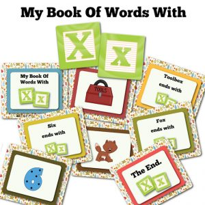 My Book Of Words with X