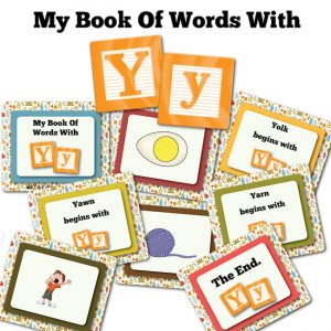 My Book Of Words with Y
