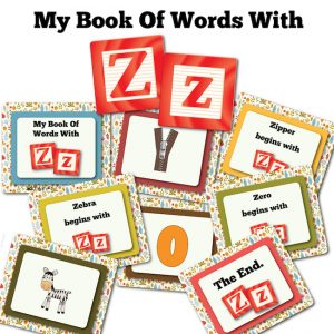 My Book Of Words with Z