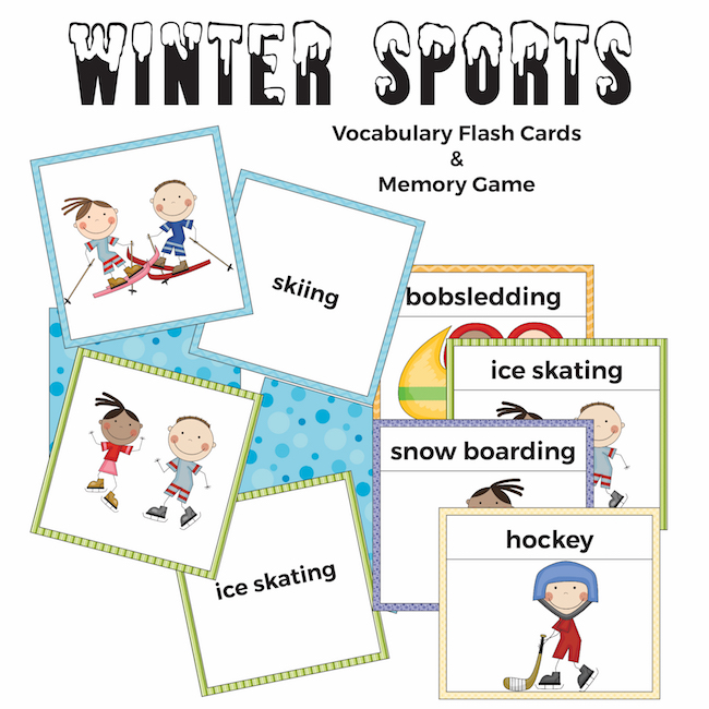 Flashcard Sports Matching Worksheet For Preschoolers ...