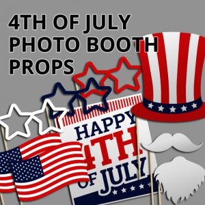 Fourth of July Photo Booth Props