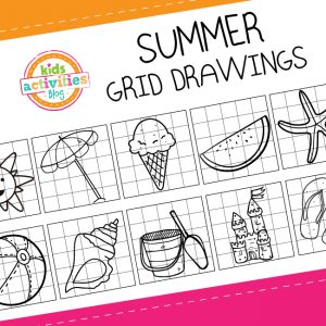 Summer Grid Drawings