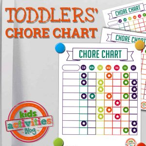 Chore Charts for Toddlers