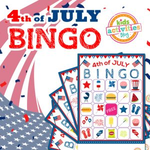 4th of July BINGO Game