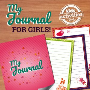 Printable Journal for Girls