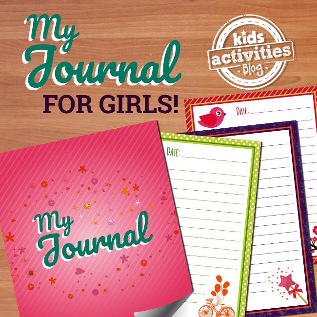 Printable Journal for Girls