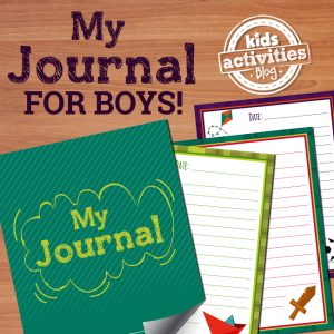 Printable Journal for Boys