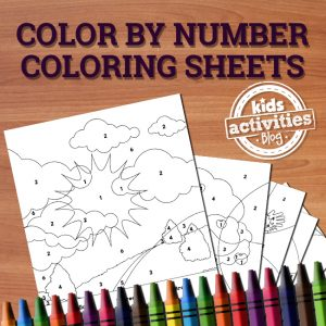 Color-By-Number Coloring Sheets