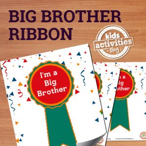 I'm a Big Brother Ribbon