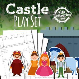 Printable Castle Play Set for Kids