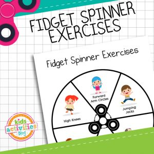 Fidget Spinner Exercises for Kids