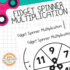 Fidget Spinner Multiplication 7-12