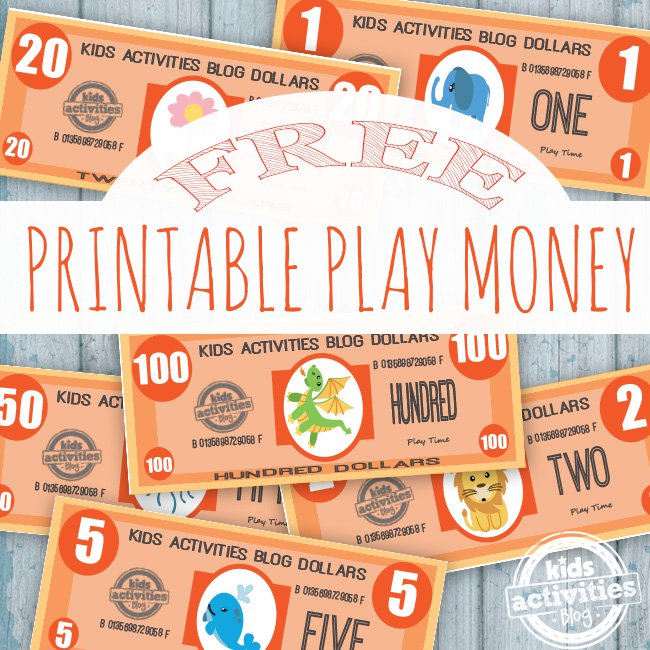 free printable play money the printables library