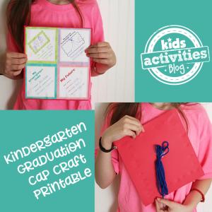 Kindergarten Graduation Craft Cap Printable