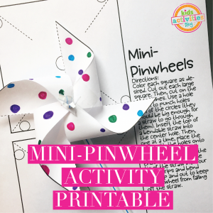Mini-Pinwheel Activity