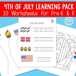 4th of July Activity Pack for Preschool