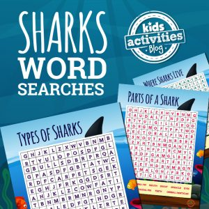 Shark Word Searches